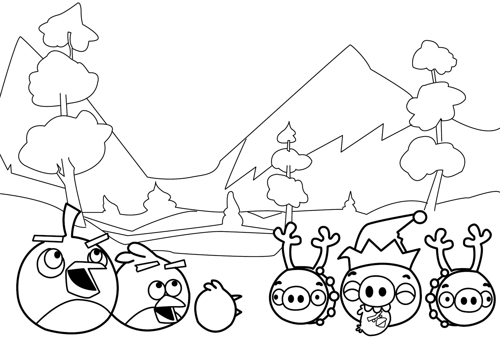 Christmas-Birds-Coloring-Pages-for-Kids
