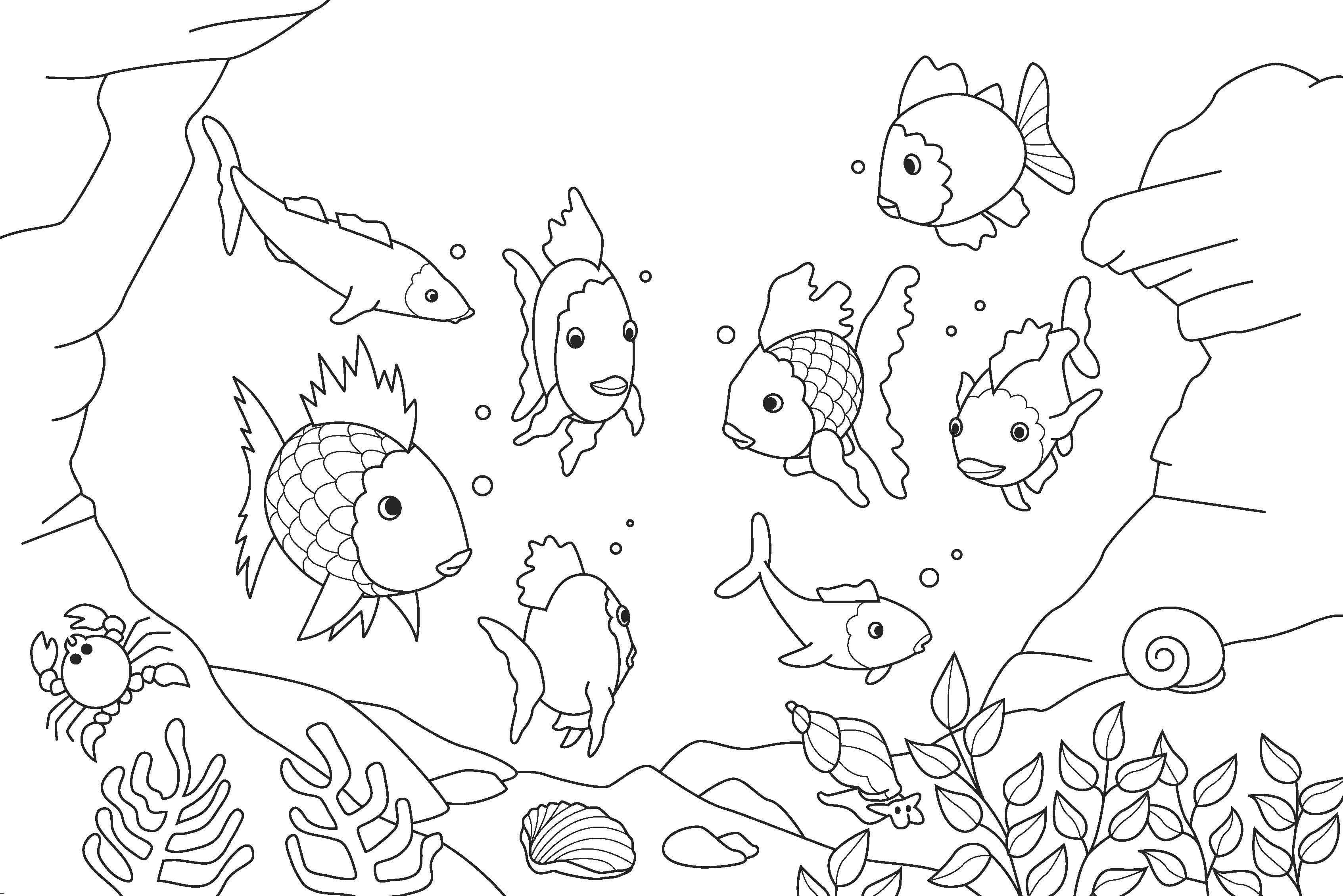 50 Free Coloring Pages For Kids