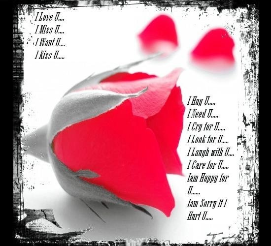 I-Love-You poems for her