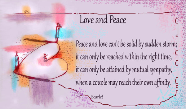Love-And-Peace poems for her