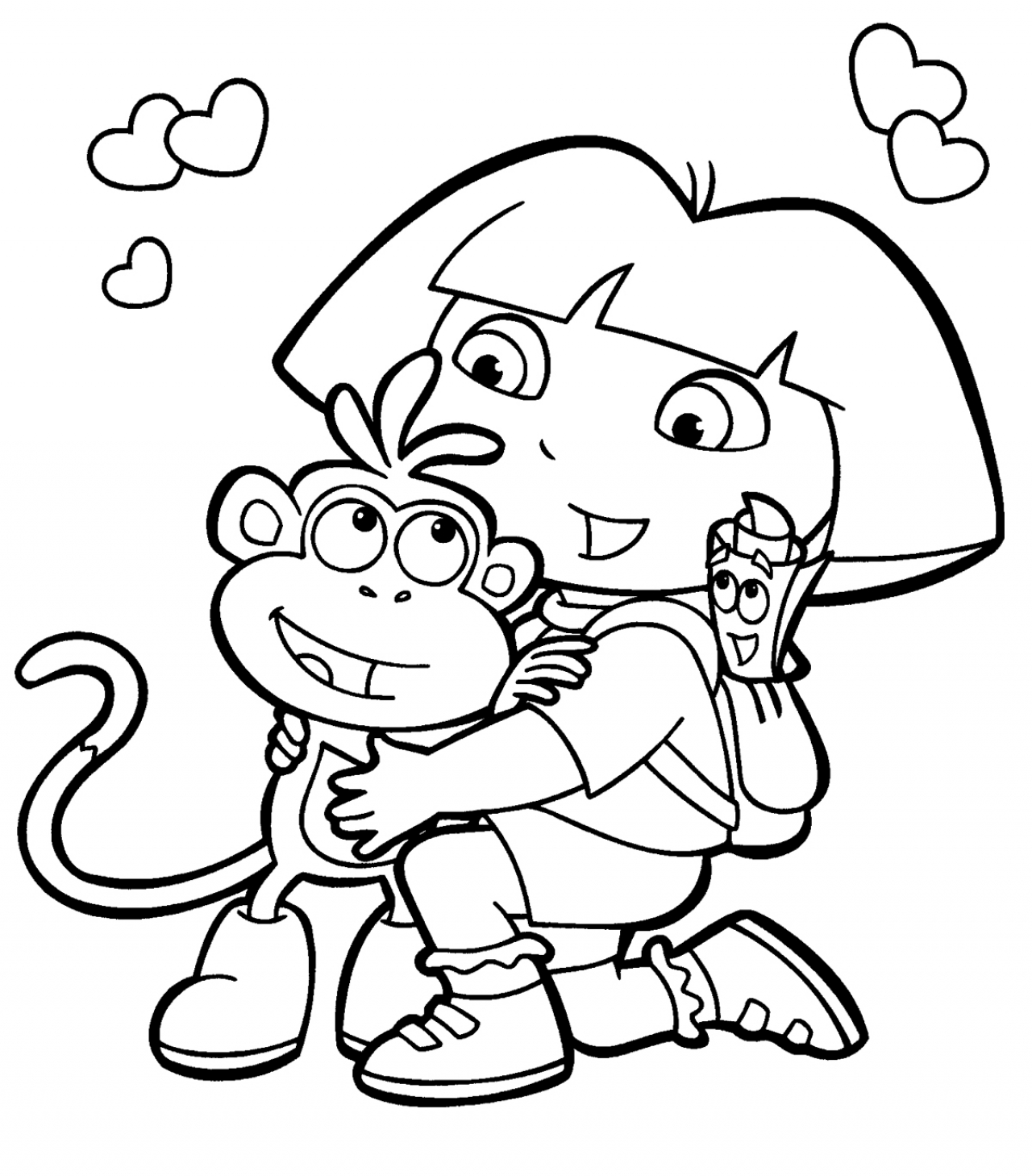dora-the-explorer-coloring-pages-for-kids
