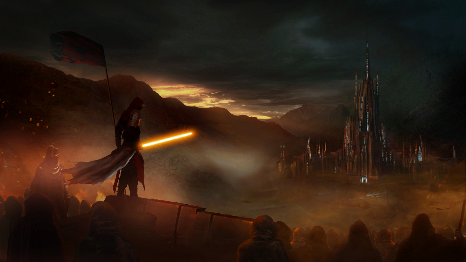 star wars drak fantasy wallpaper