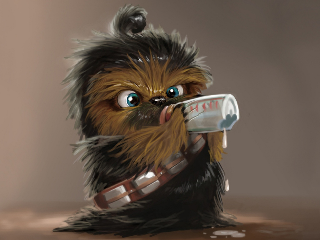 star_wars_chewbacca_drink_baby-wallpaper