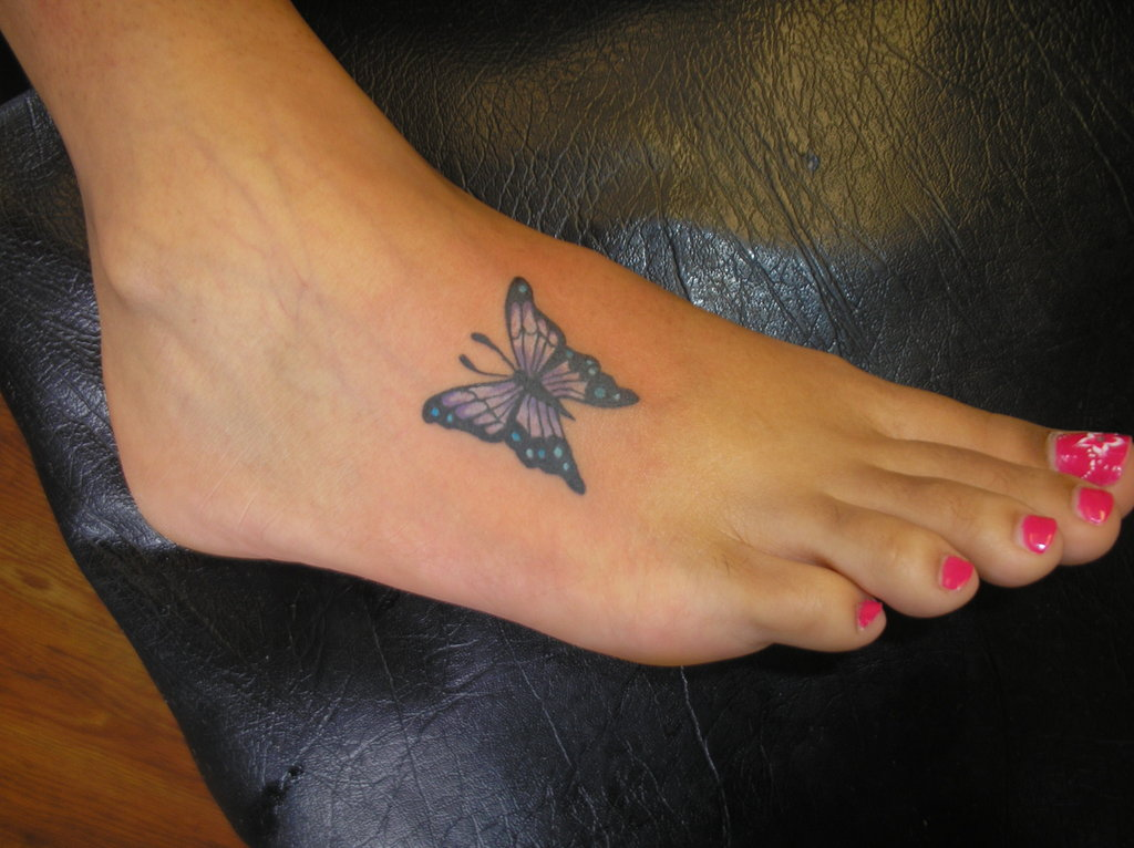 Butterfly-Foot-Tattoo-Designs-for-Women