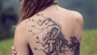 Amazing Back Tattoo Ideas for Women