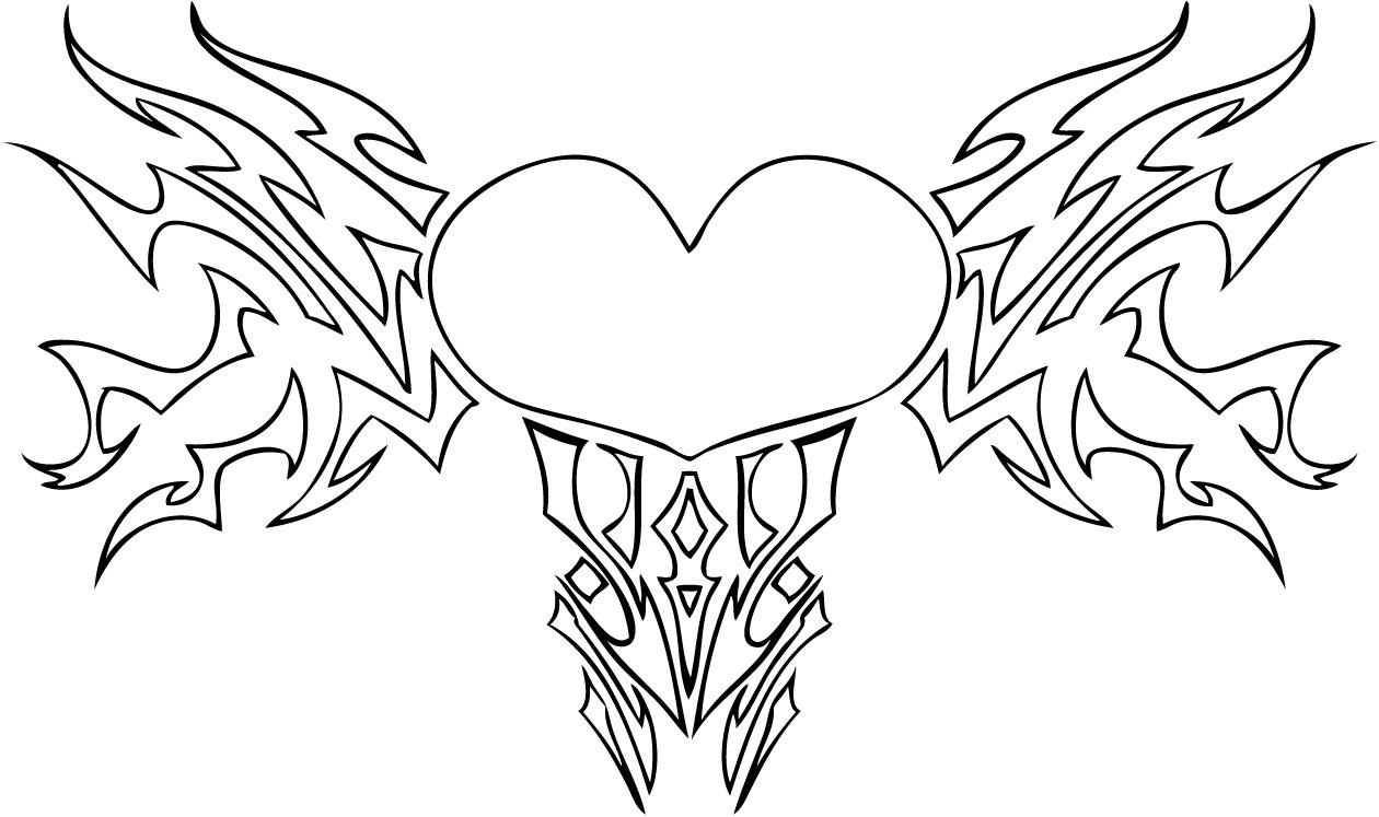 Hearts_With_Wings_Coloring_Pages