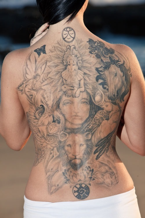 Moon-Phases-Back-Tattoos-For-Women