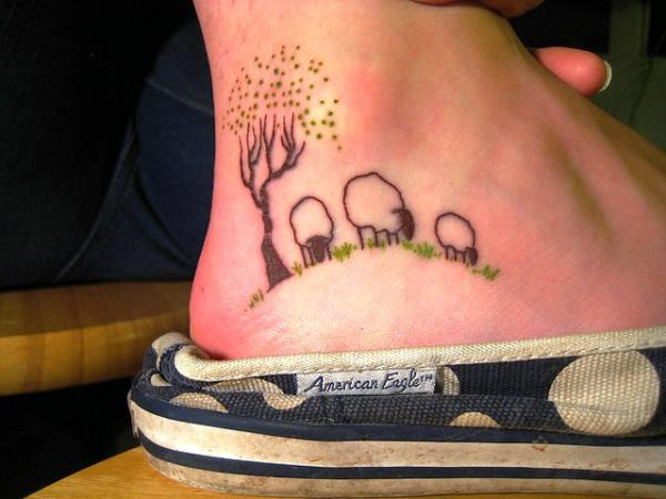 60 Cute Foot Tattoos Pictures