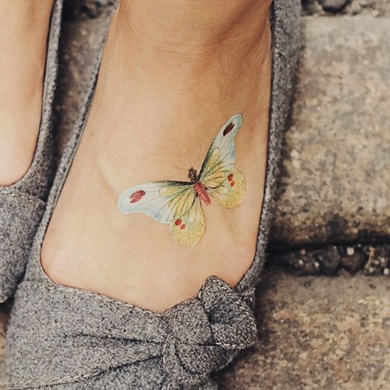 butterfly-foot-small-tattoos