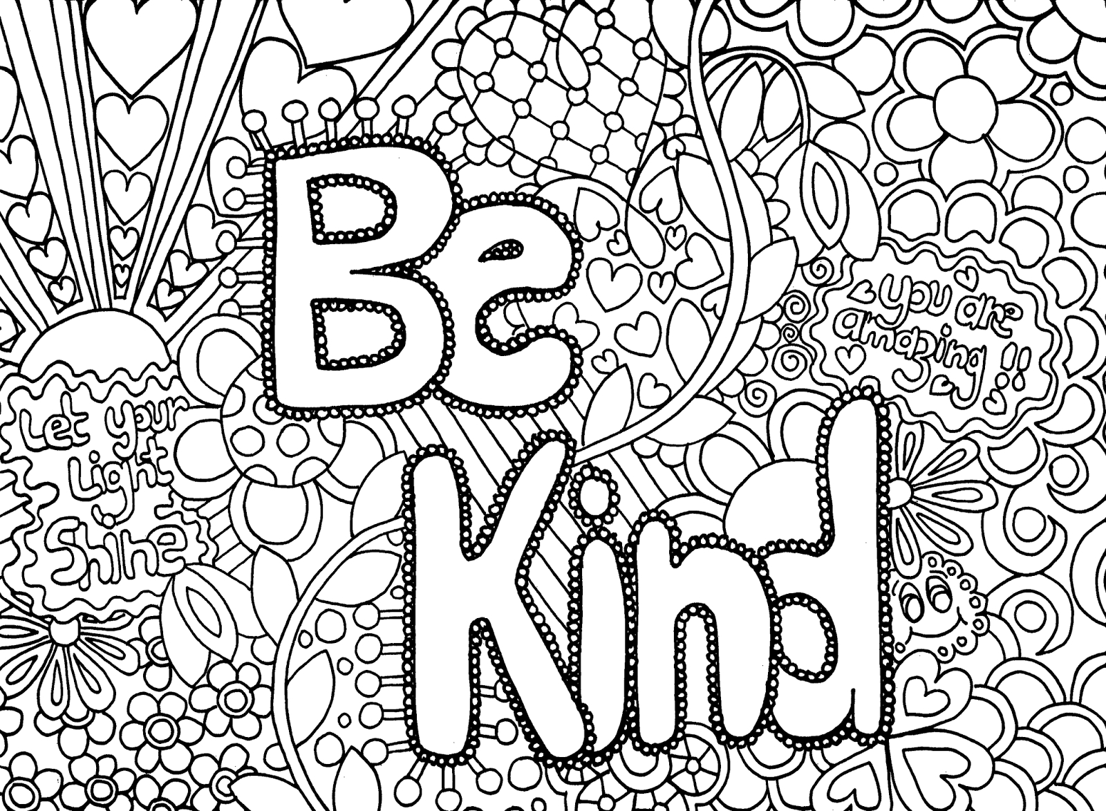 Free printable coloring pages with words - Coloring Pages For Teenagers To Print Then Marvelous Coloring Pages For Teenagers To Print Florida