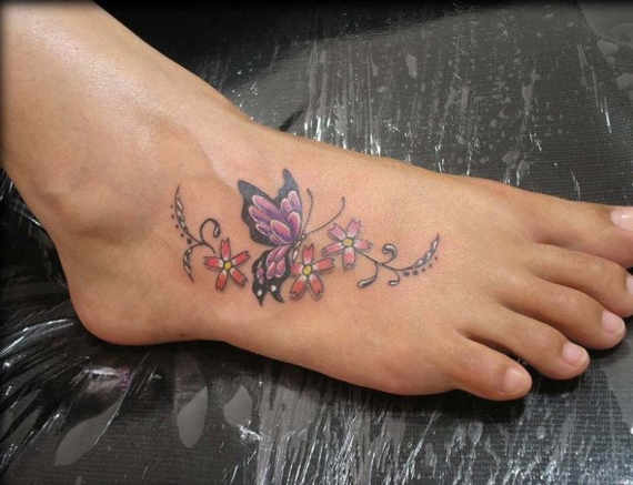foot-butterfly-tattoos