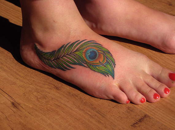 foot-tattoos-peacock-feather