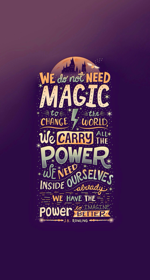 harry potter quotes wallpaper for iphone