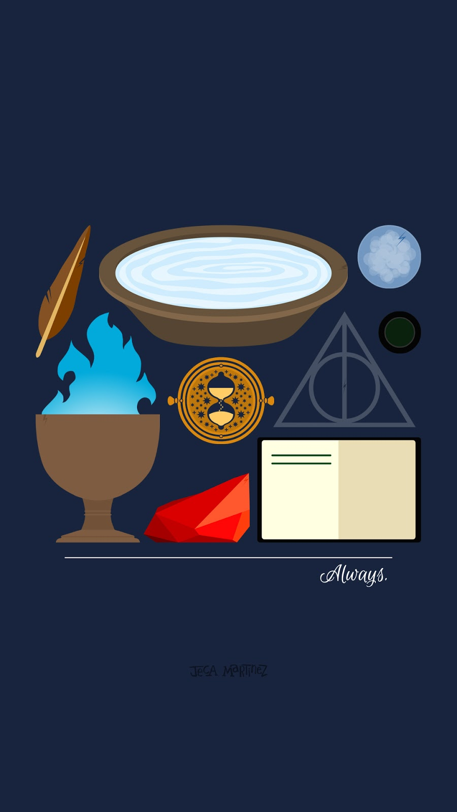 iphone backgrounds harry potter