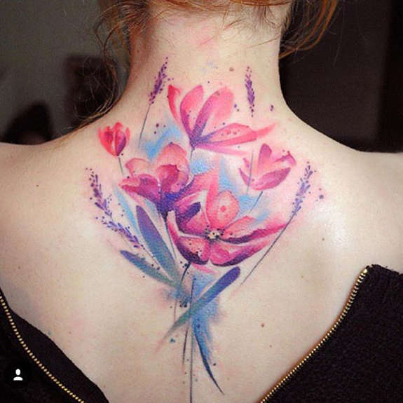 neck-tattoos-for-women