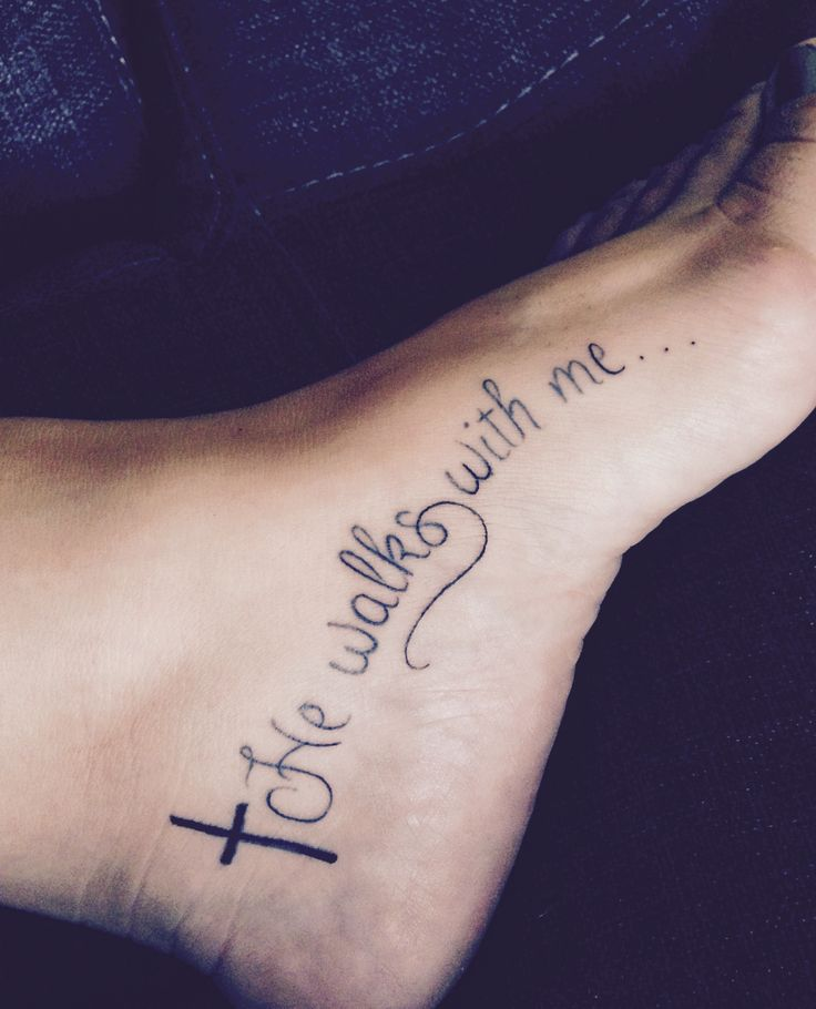 pretty foot tattoos for women quotes