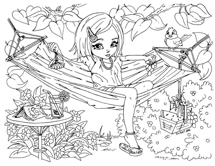 spring-printable-summer-time-girl-enjoy-hammock-coloring-pages