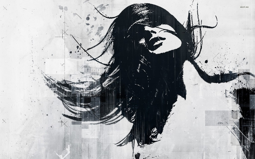 womans-graffiti-artistic-wallpaper