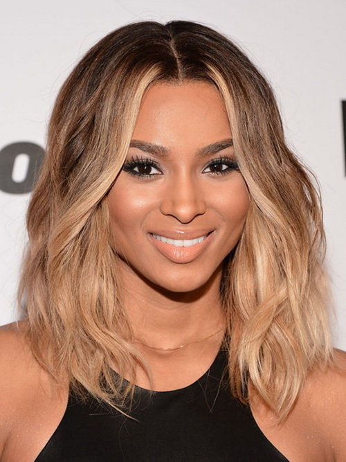 Medium-Length-Wavy-Hairstyles-For-Black-Women