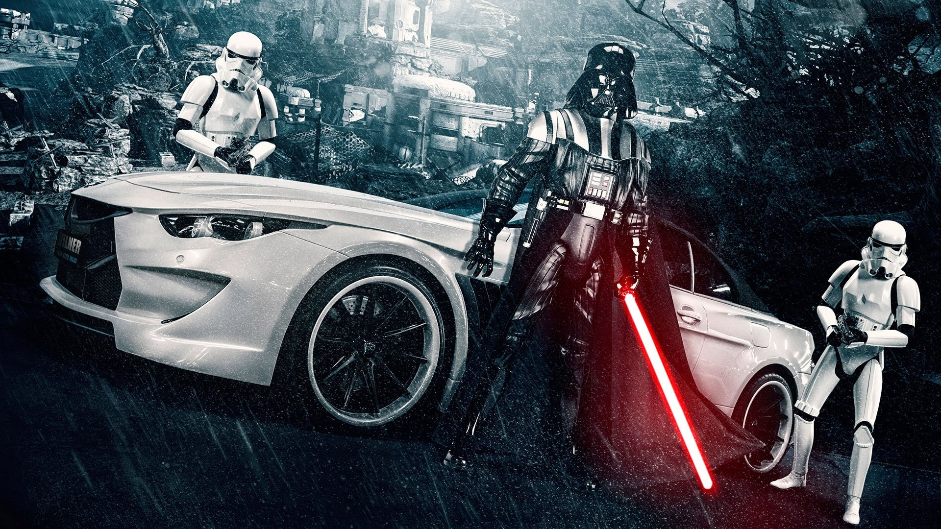 darth-vader-stormtrooper-heavy-rain-mitsubishi-wallpaper-hd