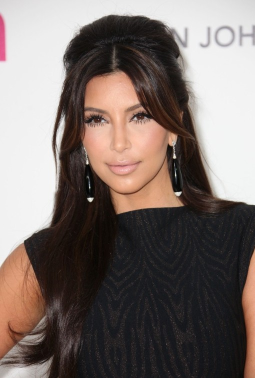 kim kardashian hairstyle collection