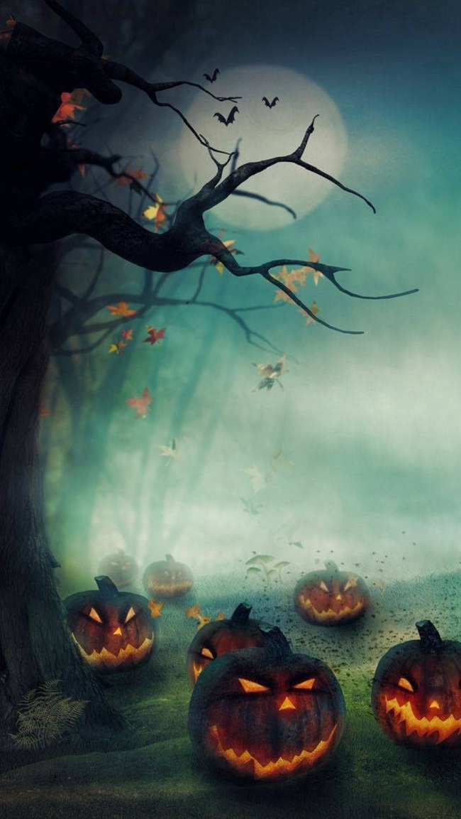 halloween-fire-pumpkins-iphone-wallpapers