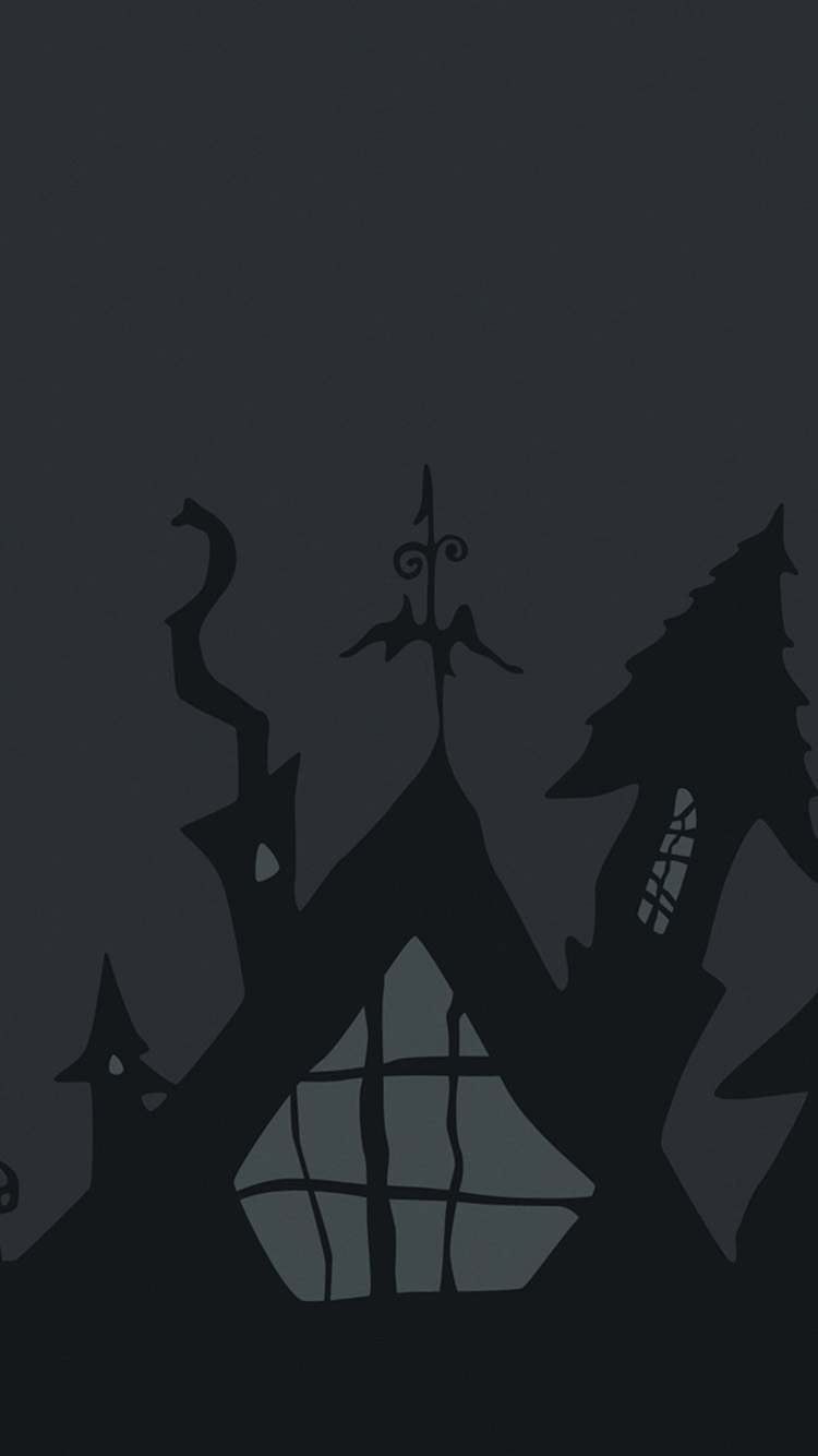 Halloween Gray iPhone Wallpapers