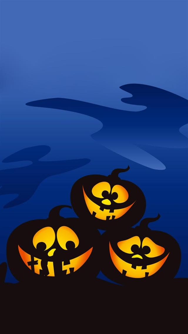 three-halloween-pumpkins-iphone-wallpapers