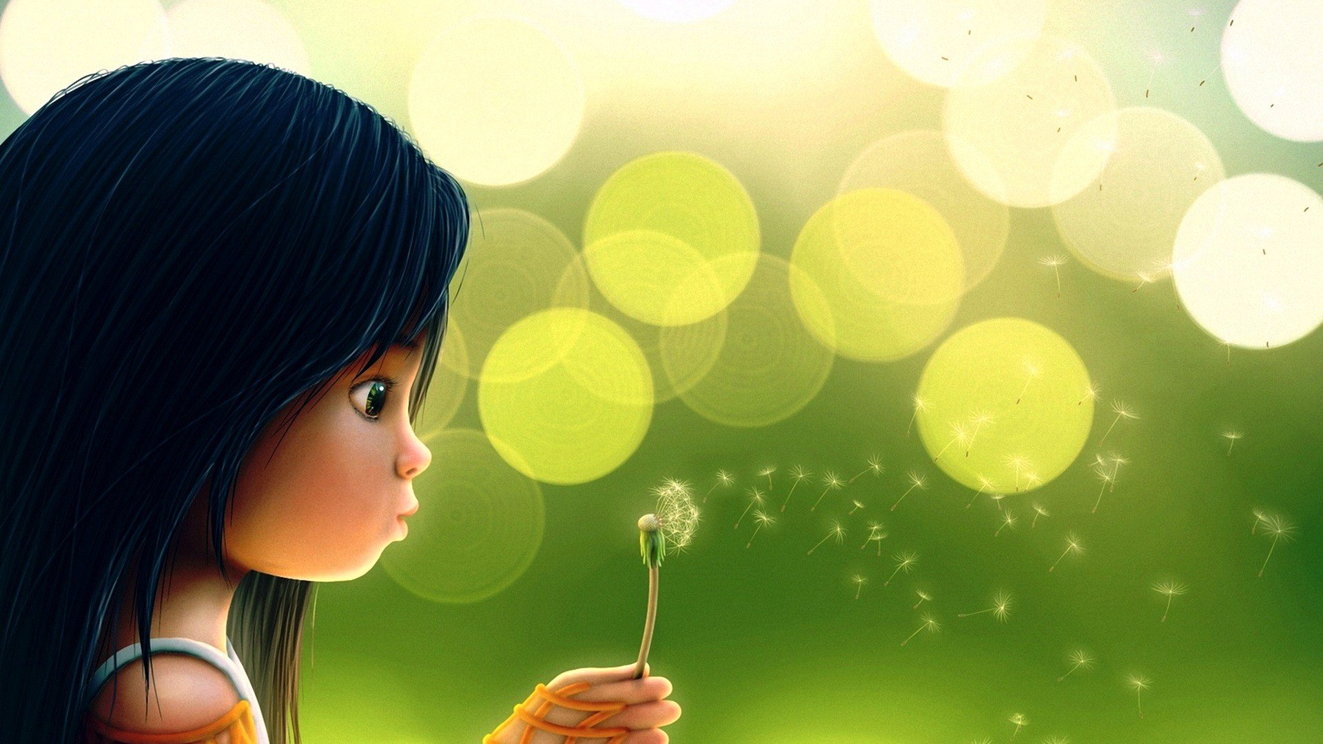 cartoon-dandelion-girl-cute-wallpapers