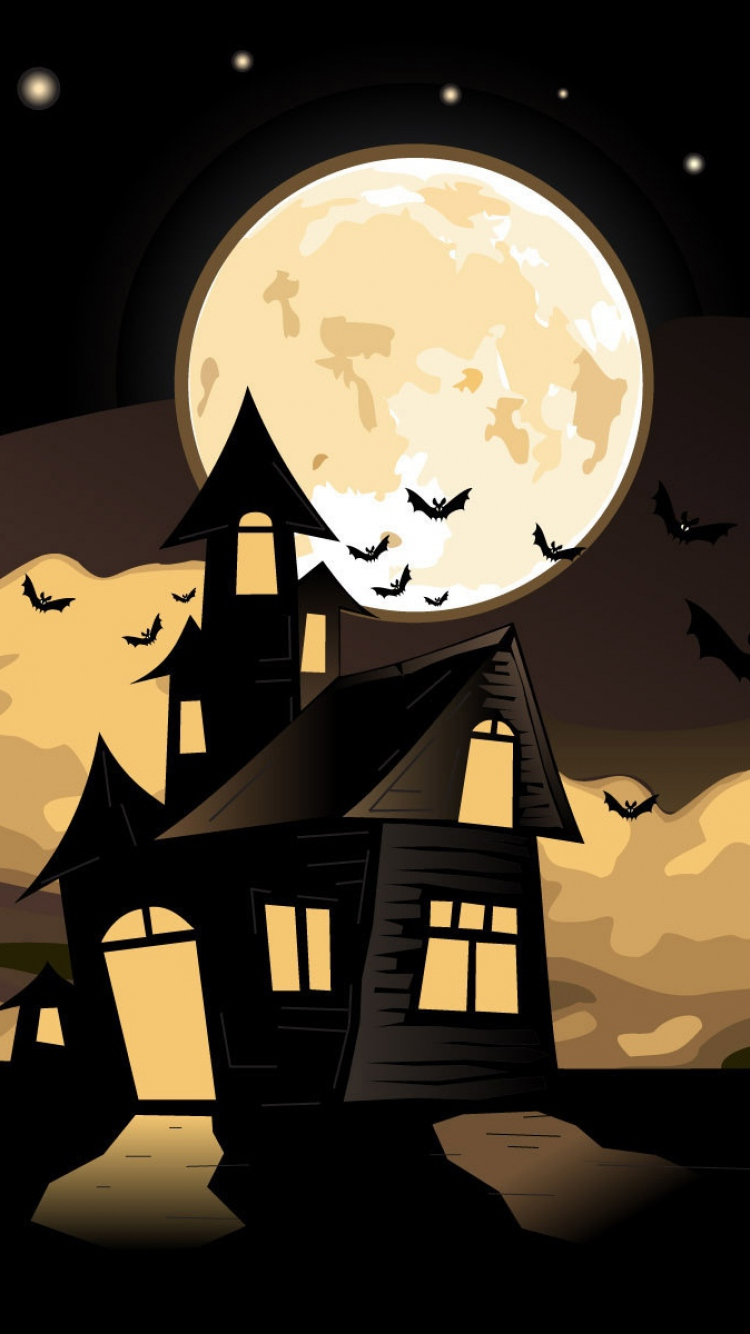 house_witch_flying_halloween_sky_moon_castle-iphone-wallpaper