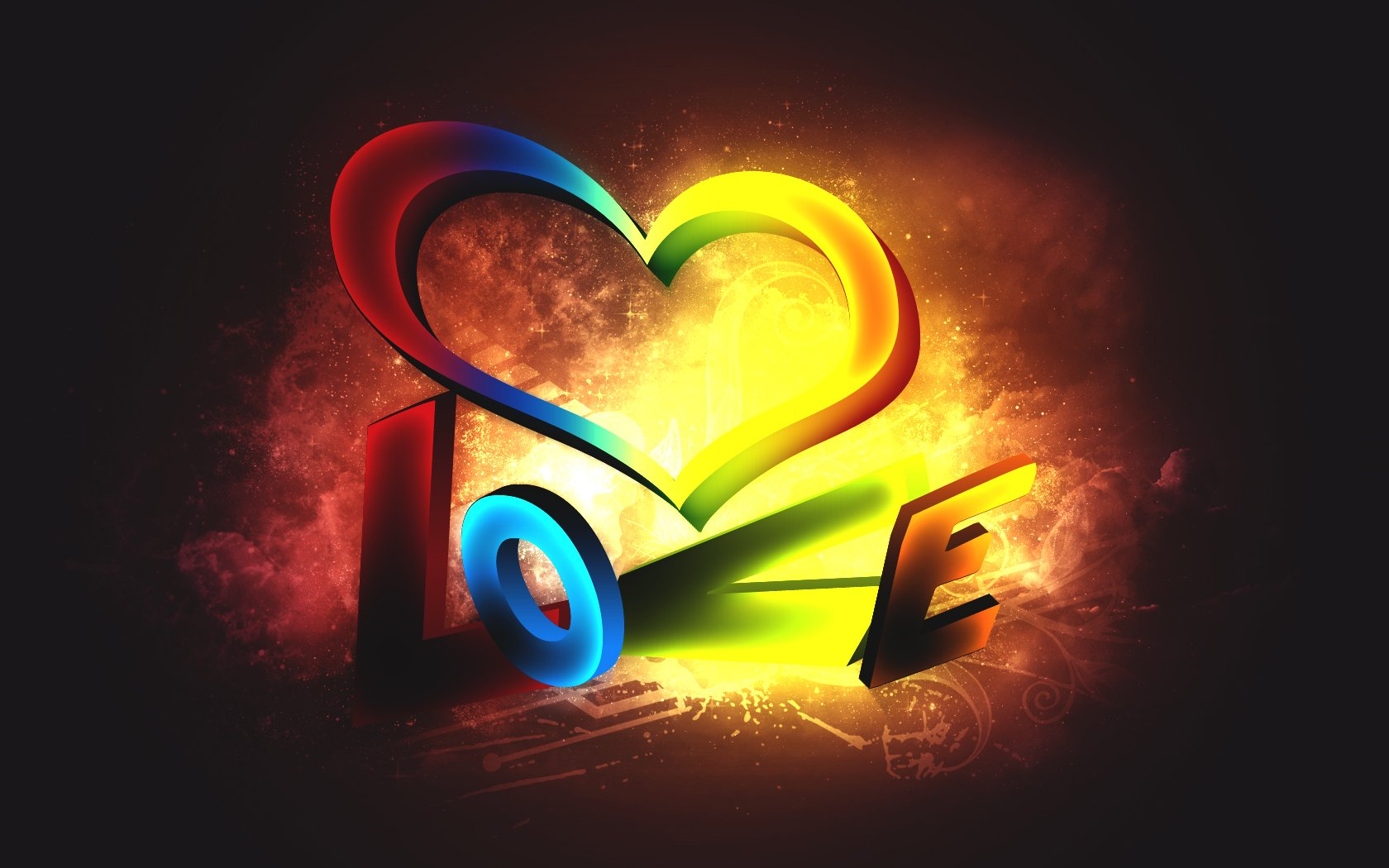 love-colorful-girly-wallpaper