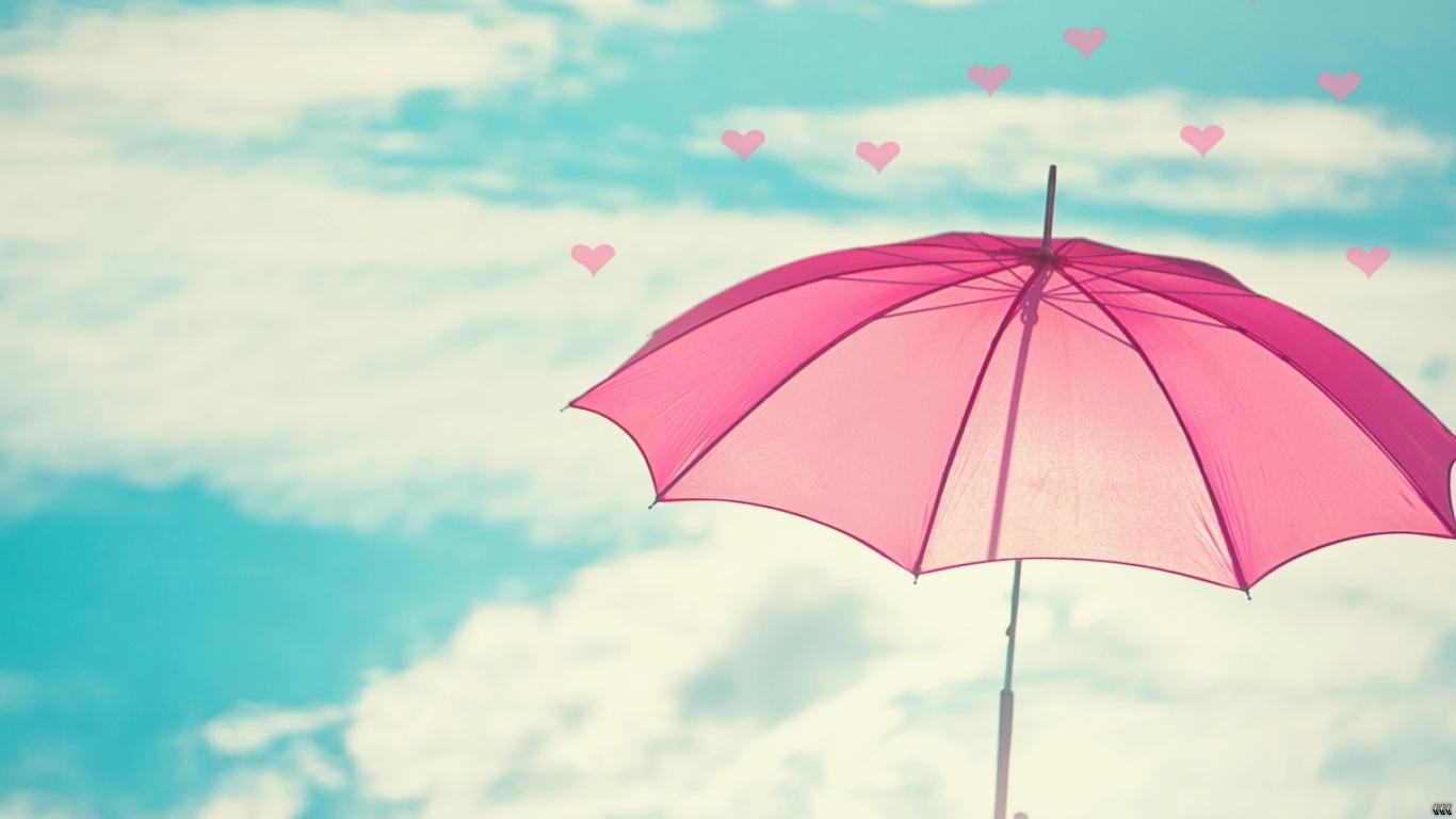 love-girly-wallpapers-umbrella-love-hearts