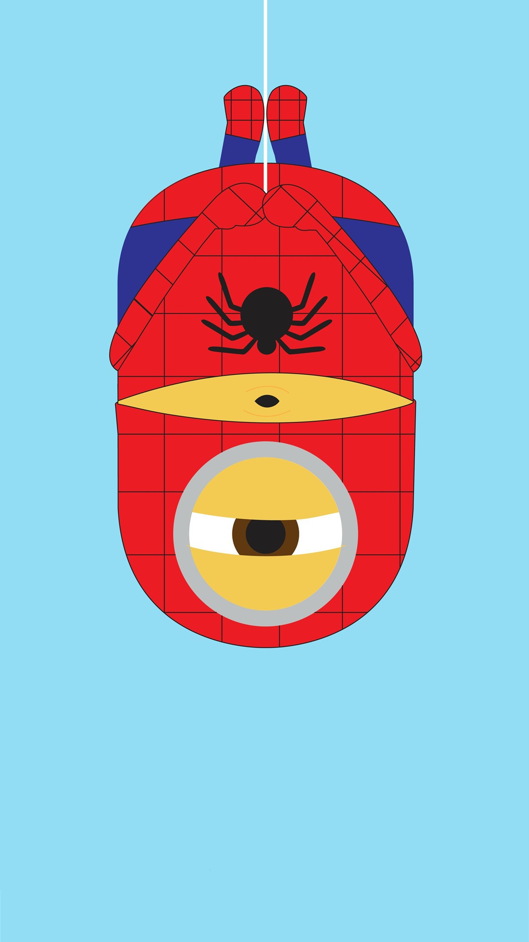spider-man-minion-iphone-wallpaper-despicable-me-halloween