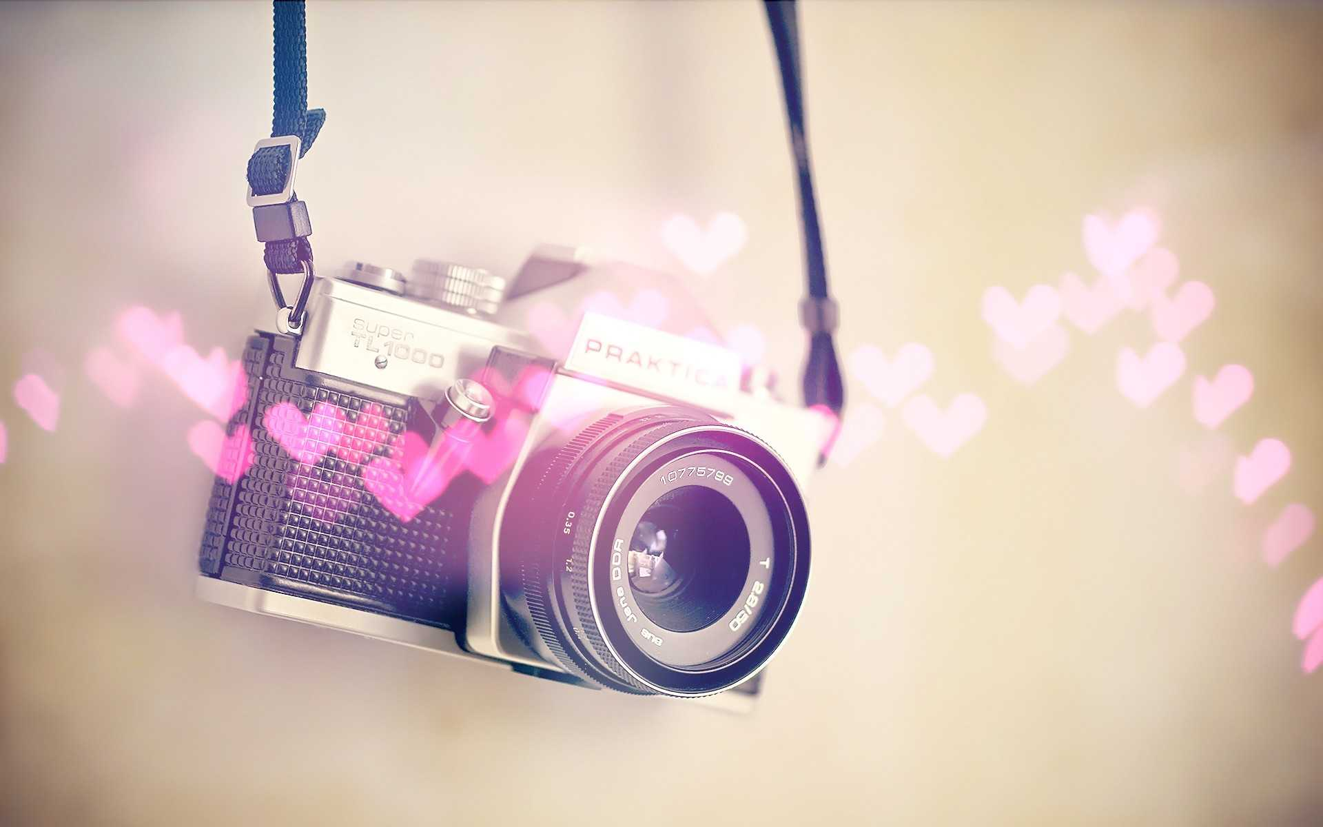 vintage-camera-cute-girly-wallpaper