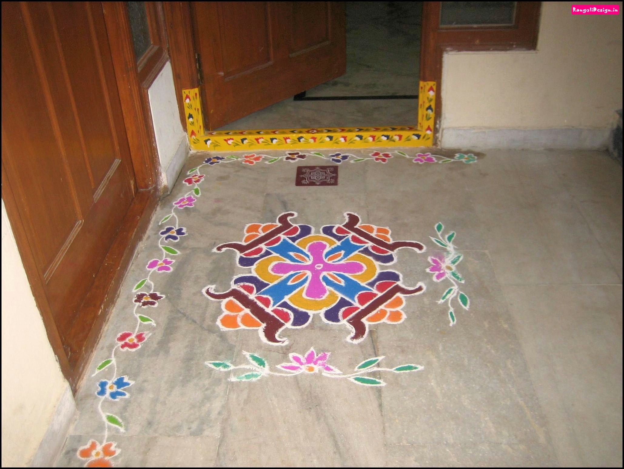 beautiful-image-dots-rangoli