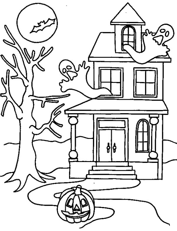 hounted-house-on-halloween-coloring-page