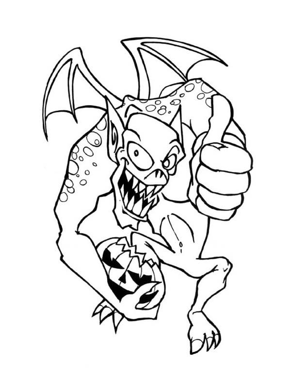 monster-says-happy-halloween-coloring-page