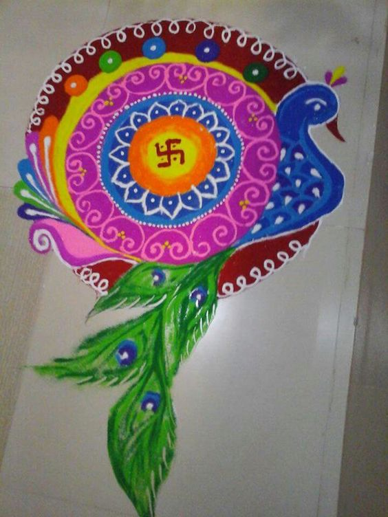 peacock-rangoli-ideas-and-designs