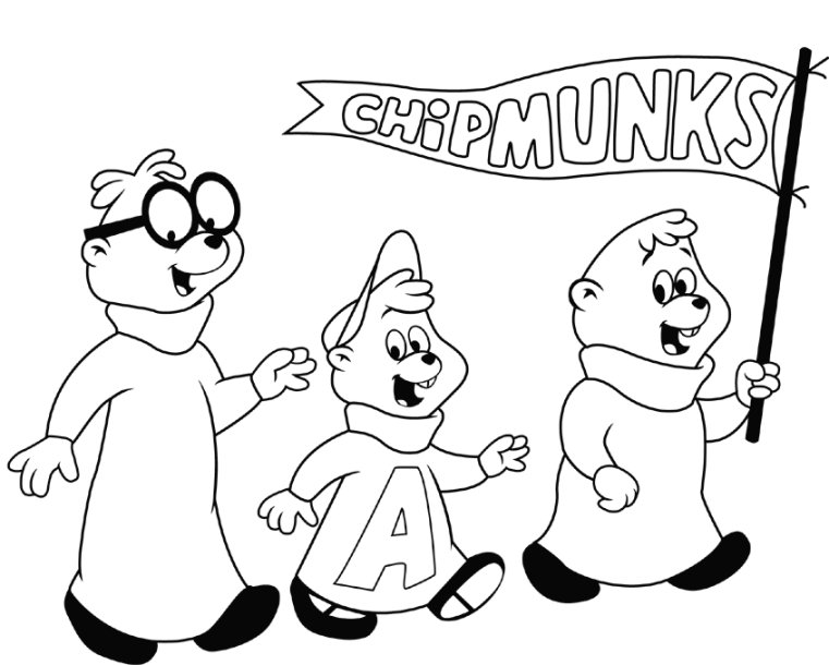 alvin-and-the-chipmunks-halloween-coloring-pages