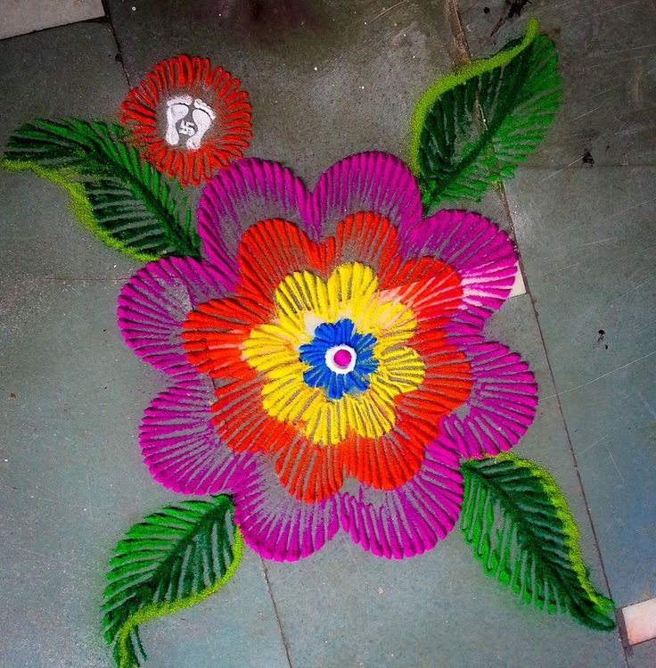 colorful-flower-rangoli-designs-for-diwali