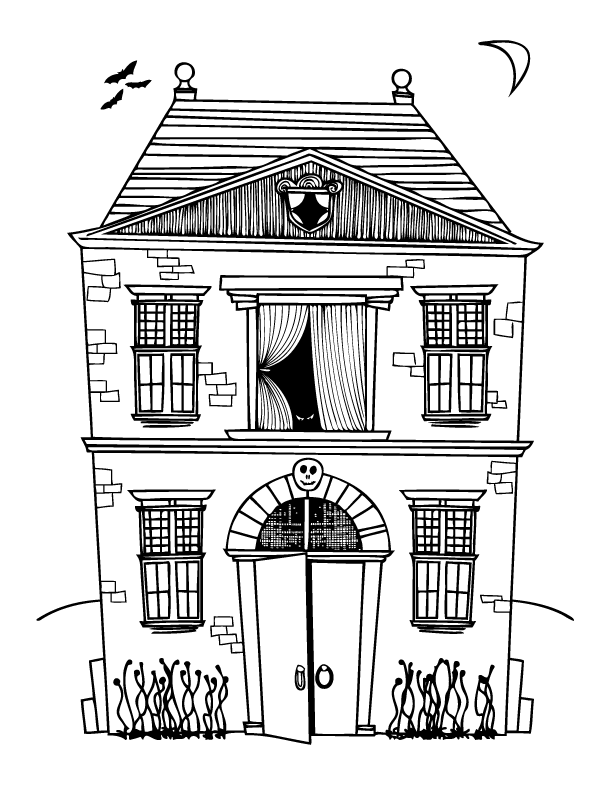 haunted-house-halloween-coloring-pages