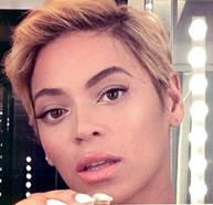 beyonce hairstyles short