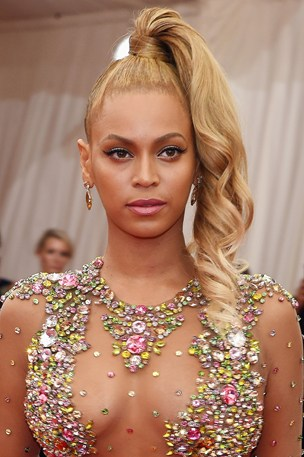 beyonce ponytail hairstyles