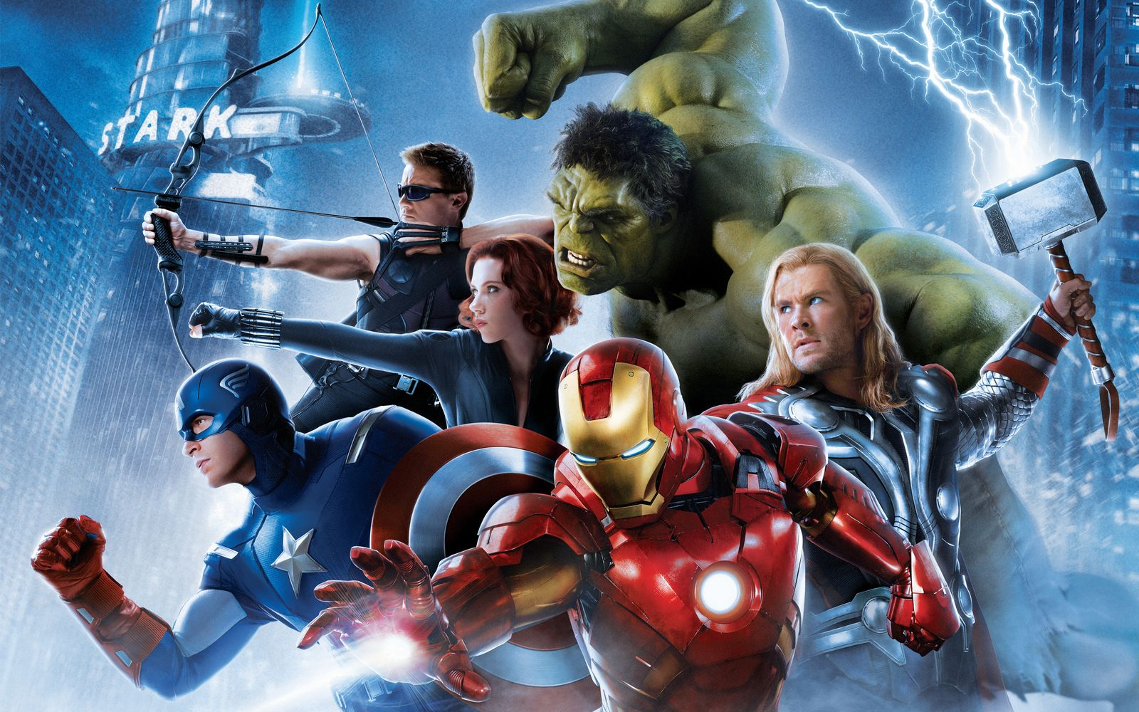 Anime Avengers HD Wallpapers Ultra HD Desktop Wide