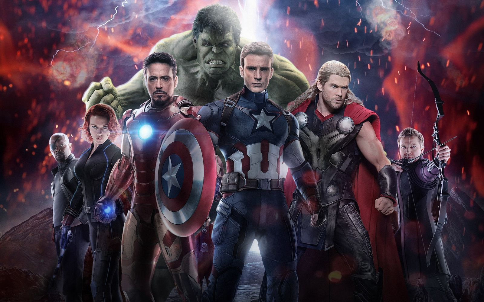 Avengers age of ultron Movie wallpaper