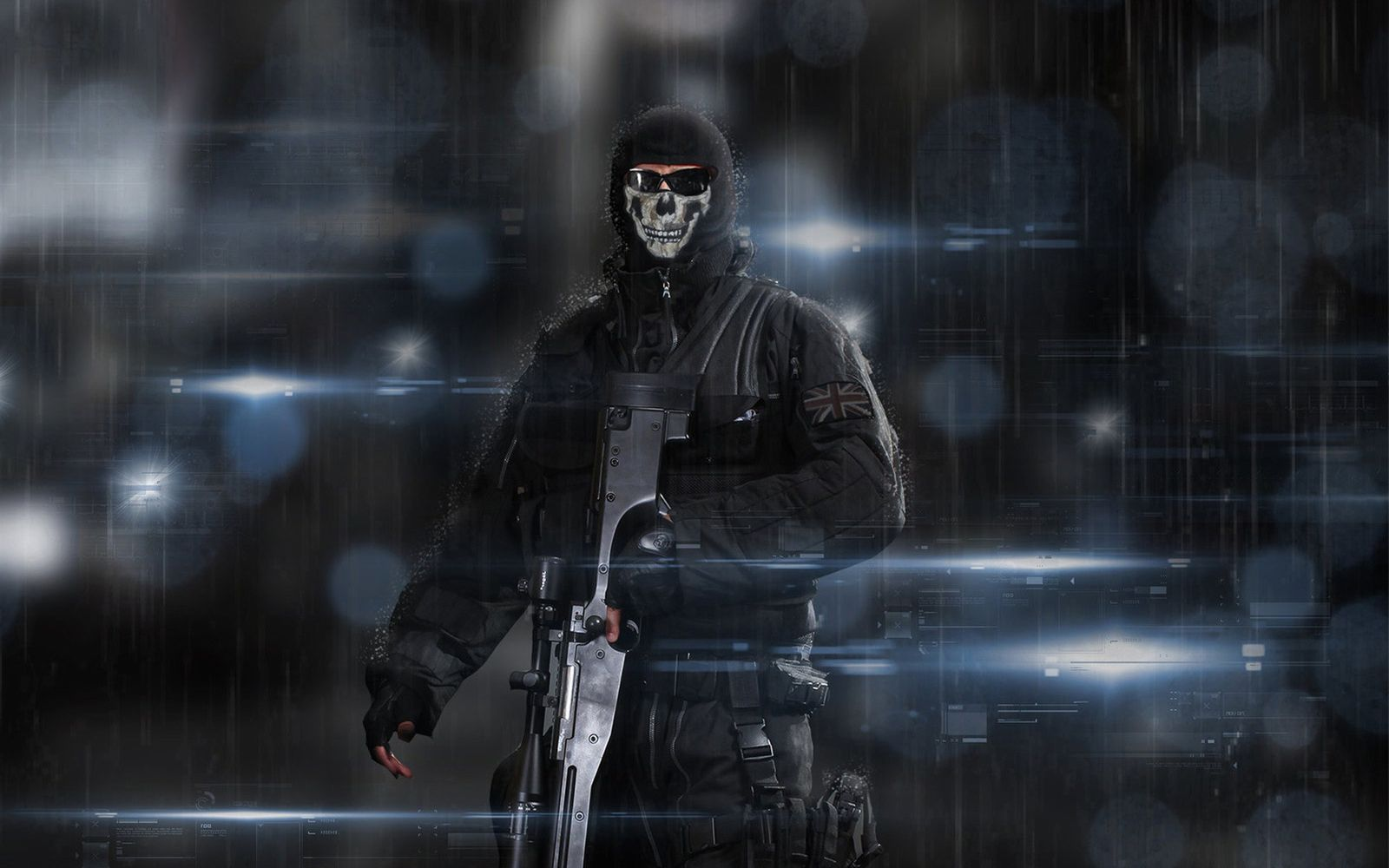 Call Of Duty Ghosts Background HD Wallpapers
