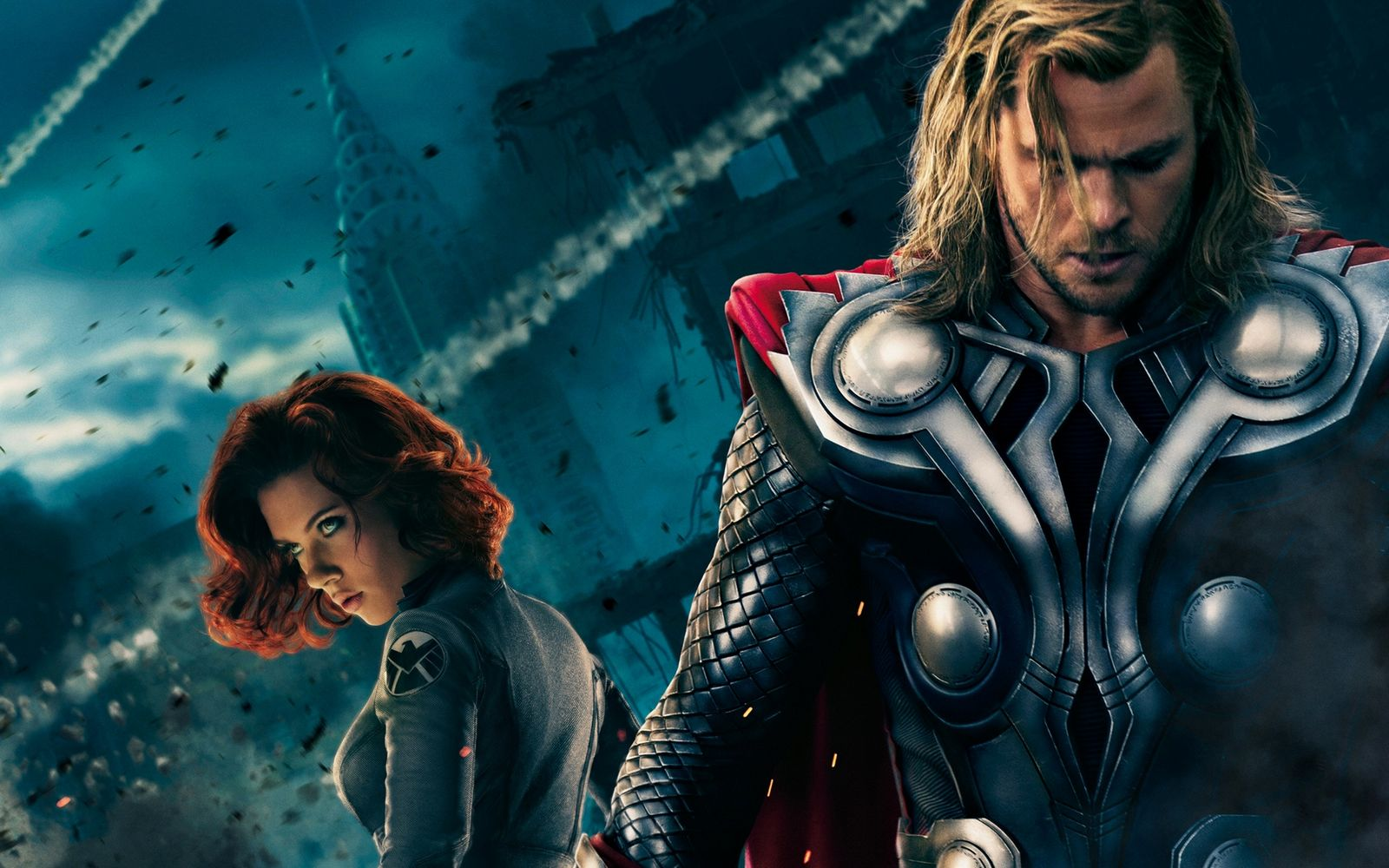 Wallpaper HD Thor in The Avengers