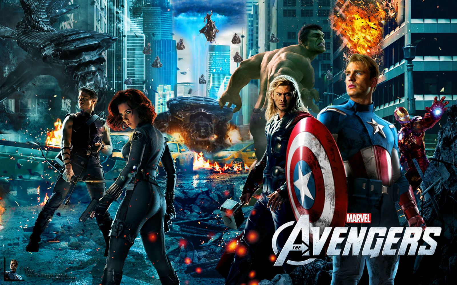avengers together wallpaper