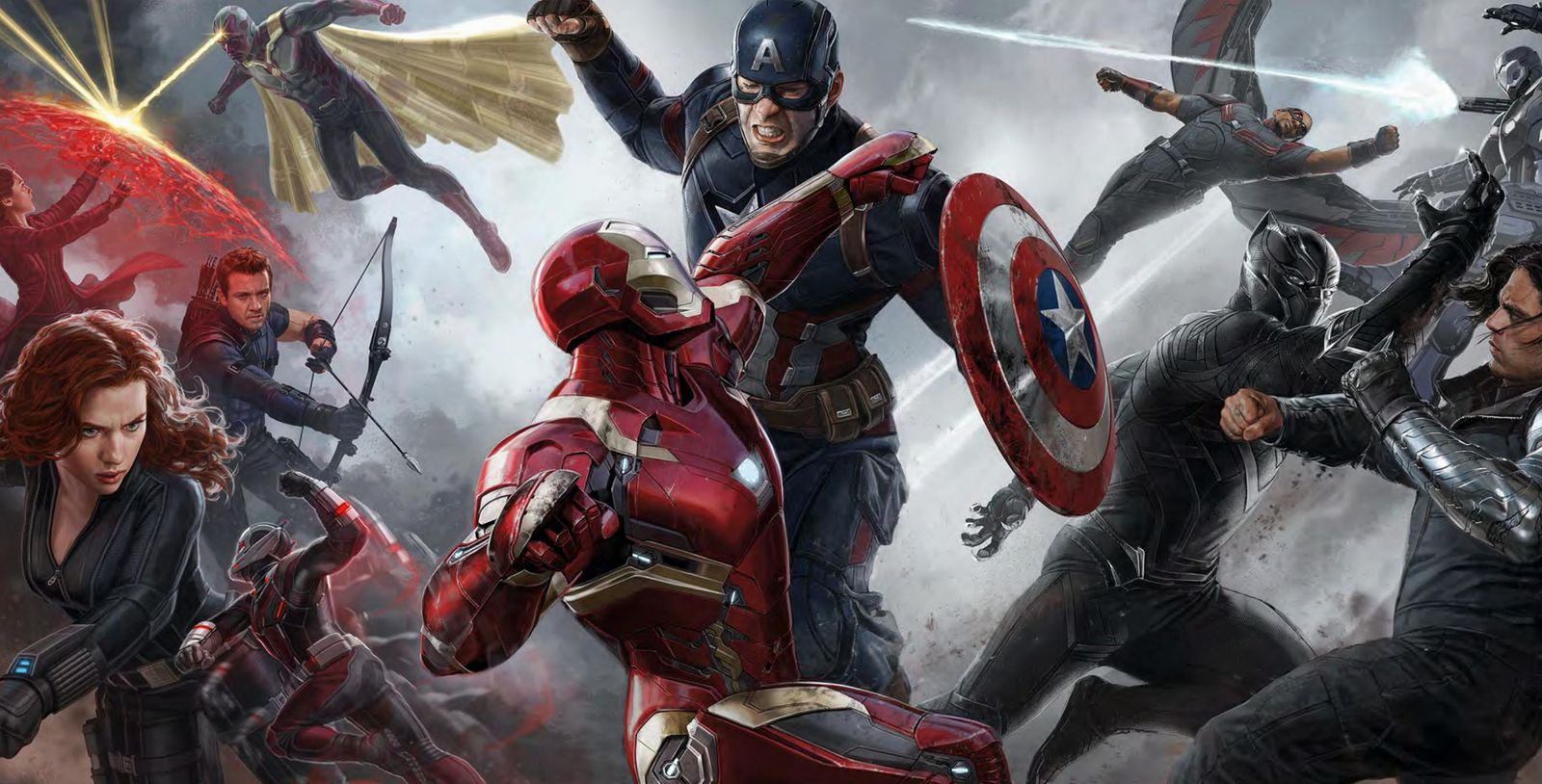 captain america civil war concept art HD
