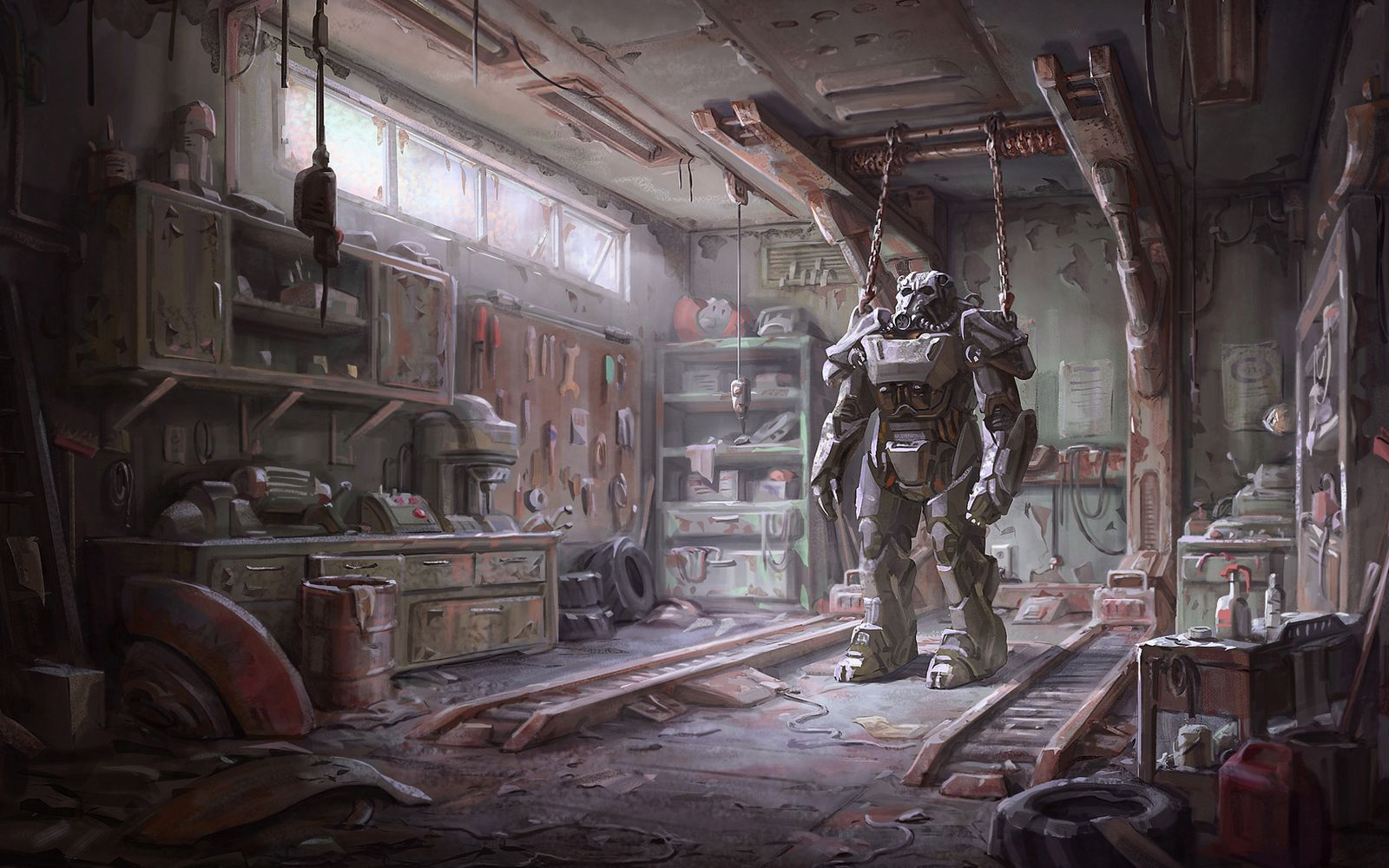 fallout armour wide